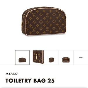 Authentic Louis Vuitton Toiletry 25